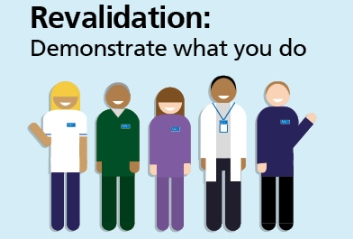 Revalidation: Demonstrate what you do