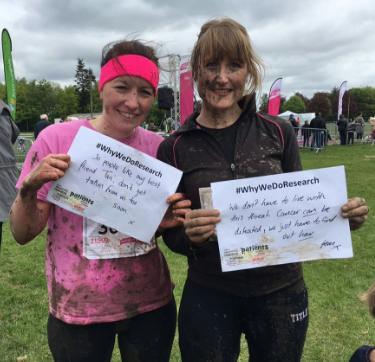 Claire and Gemma Pretty Muddy 2016 (2)